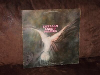 Vinyl-LP: EMERSON LAKE & PALMER - Same (ELP 1970) [Lucky Man] German First Press