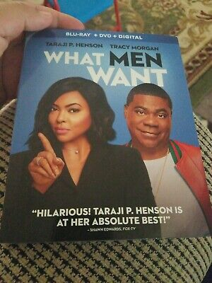 NEW - What Men Want (Blu-ray+DVD+Digital)  W/SLIPCOVER No Reserve