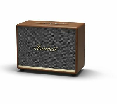 MARSHALL Woburn II Bluetooth Speaker - Brown - Currys
