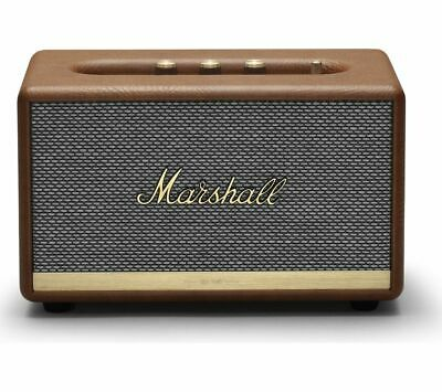 MARSHALL Acton II Bluetooth Speaker - Brown - Currys