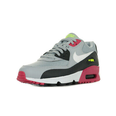 brand new 14e88 ea82f Chaussures Baskets Nike fille Air Max 90 Mesh Wn s