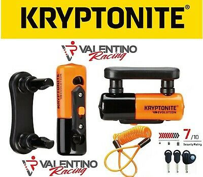 Blocca Disco Antifurto Lucchetto Disco Kryptonite Dogbone Univ. Moto Scooter