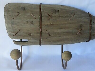 Wooden Whale 10''x22''