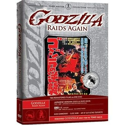 Godzilla Raids Again (DVD, 2007) NEW, Rare! Toho Master Collection Japanese & US