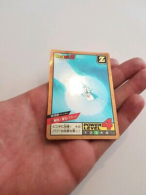 Carte Dragon Ball Z Super Battle 272 Laser prism (très rare) original card