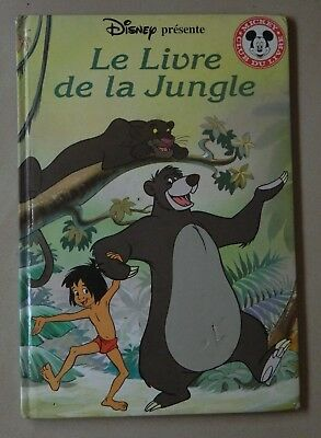 Le livre de la jungle - de Disney - Club du livre Mickey