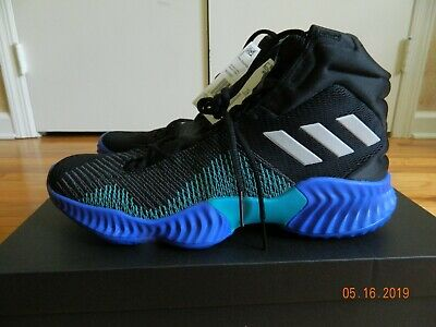 quality design 21bec 73119 Adidas Pro Bounce 2018 Basketball Mens Black Green Shoes Size 11 AH2657