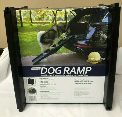 BBB Folding Dog Ramp 4.9' Unfold Length W/ Handle