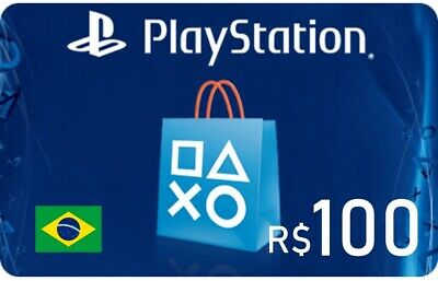 PlayStation Network Gift Card 100 BRL
