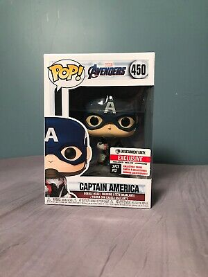 CAPTAIN AMERICA #450 Funko Pop! Marvel Avengers Entertainment Earth Exclusive