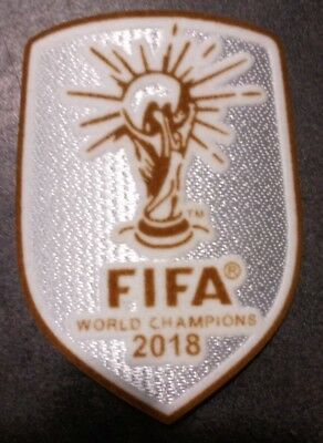 FIFA  Patch badge foot World champions maillots bleu de l'équipe de France 2018