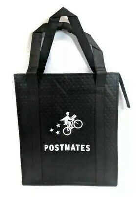 Professional Postmates Insulated Food Delivery Bag Unused New Plastic Insert