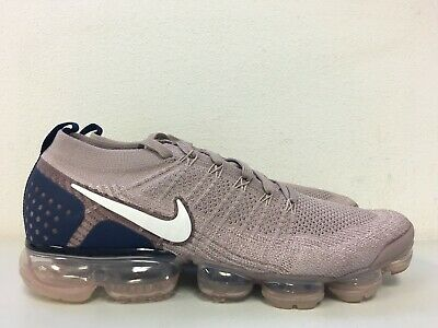 Nike Air Vapormax Flyknit 2 Diffused Taupe Phantom Blue 942842-201 Size 9.5