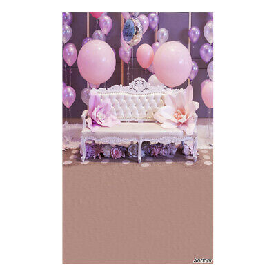 Andoer 1.5 * 0.9m/5 * 3ft Birthday Party Photography Background Balloon U1Z5