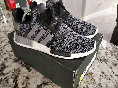 fbd994747af ADIDAS NMD R1 GLITCH CAMO Core Black / Grey BB2884 Size 10