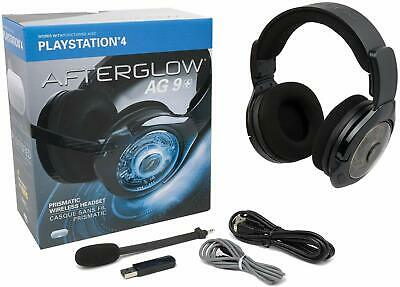PDP Afterglow AG 9 Wireless Headset for PlayStation 4 - New! In Retail Packaging