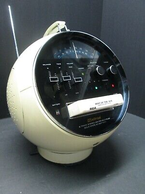 1970s WELTRON SPACE AGE 8 TRACK STEREO TAPE PLAYER AM-FM RADIO - New Belt!