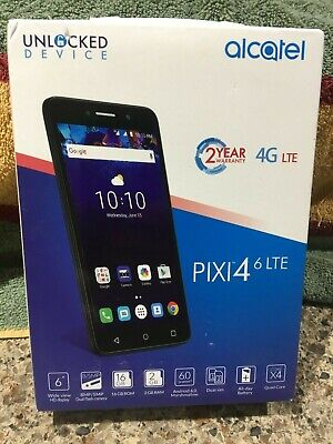 ALCATEL 5098S ONE Touch Pixi 4 (6) 4G LTE with 16GB RAM