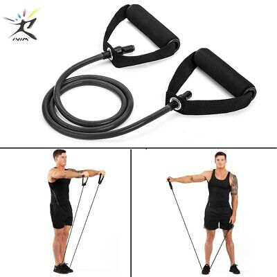 120cm Yoga Pull Rope Elastic Resistance Band Fitness Workout Rope Rubber Bands