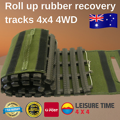 4WD 4x4 Roll Up Rubber Recovery Track for Sand Beach Desert