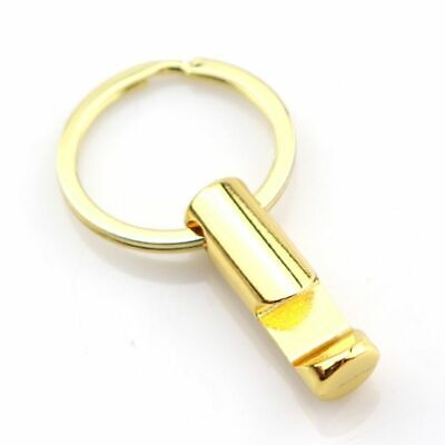 Gold Alloy Cylinder Wine Beer Soda Bottle Opener With Key Ring Keychain Bar Tool