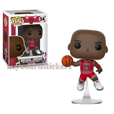 FUNKO POP BASKETBALL Michael Jordan NBA FIGURE #54 CHICAGO BULLS - IN STOCK