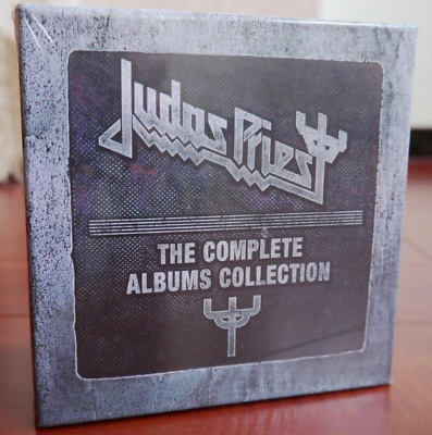 Judas Priest CD Box --The Complete Albums Booklets Full Box Set 19 CD New Sealed