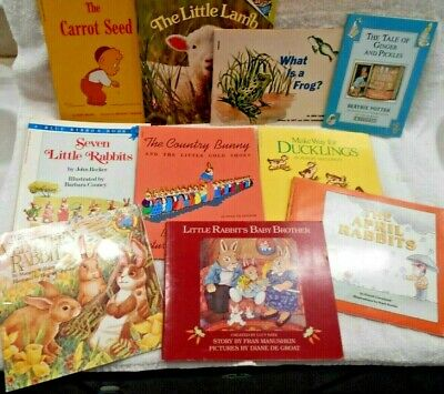 10 Great  KID'S BOOKS LOT GOOD-EXCELLENT.Homeschool -Teachers See Pictur