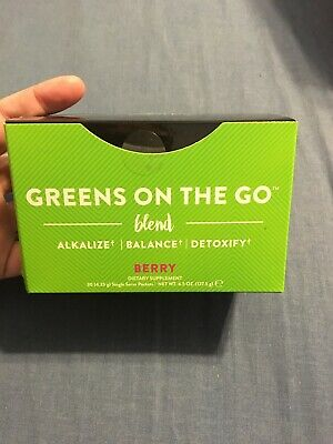 It Works! Greens on the Go Blend Packets - Berry Flavor - Unopened