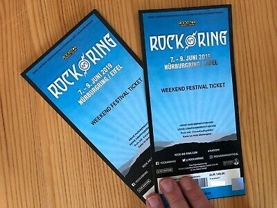 Hardcover-Ticket: Rock am Ring 2019 - Weekend Festival Ticket