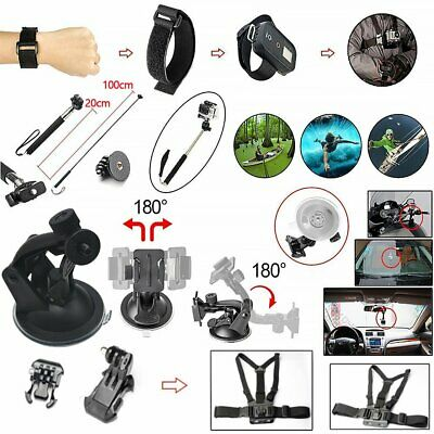 60x Essential Camera Accessories Bundle Set For GoPro Hero 7 6 5 4 3 2 Black UK