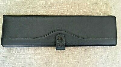 MAURICE LACROIX Switzerland LEATHER JEWELERY WALLET Length 31cm
