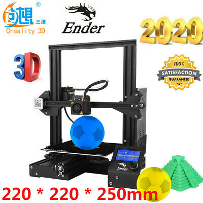 Creality 3D Ender-3 3D Printer Stampante DIY 220*220*250mm Printing Resume Q9L0