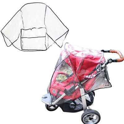 US Waterproof Universal Rain Cover Wind Dust Shield  Baby Strollers Pushchairs