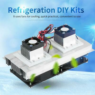 Semiconductor Refrigeration Cooling Device Thermoelectric Cooler DIY Kit 12A 12V
