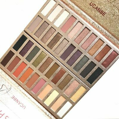 Fashion Cosmetic Eye Makeup Pigment Ucanbe Eyeshadow Palette Longlasting