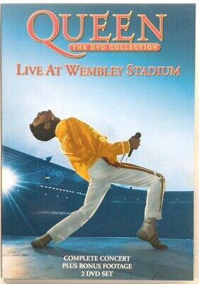 Dvd Queen - Live at Wembley Stadium - the dvd collection 2 dischi Usato