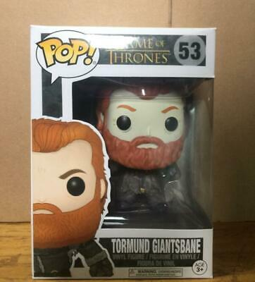 Funko Pop Game of Thrones Tormund Giantsbane BAM Books A Million Exclusive 53