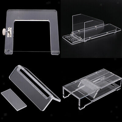 4Transparent Acrylic Soap Dish Cutter Box Steel Wire Soap Loaf Cutter Slicer