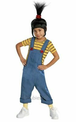 SALE! Kids Licensed Despicable Me 2 Agnes Girls Fancy Dress Costume Party Outfit