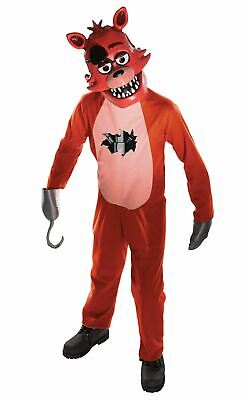 Foxy Five Nights at Freddys boys costume Kids Fancy Dress Outfit Licensed