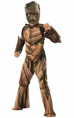 Groot Boys Costume Guardians of the Galaxy Fancy Dress Oufit Licensed Film