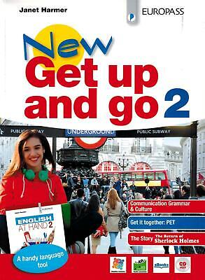 New get up and go. Con English at hand. Per le Scuole super... - Harmer Janet