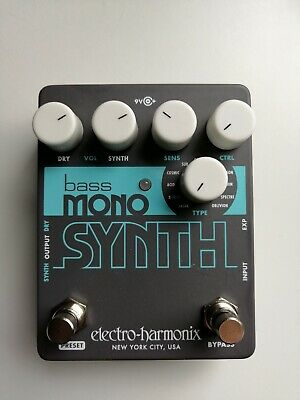Electro Harmonix EHX Bass Mono Synth, Bass Synthesizer, Brand NEW