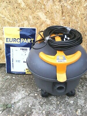 Taski Vento 8s Commercial Bagged Vacuum Cleaner C/W New Tools And Bags
