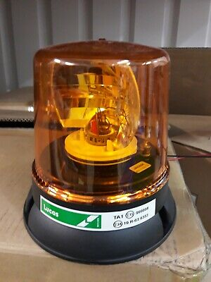 Lucas LBB255K 3 Bolt 12/24v Amber Rotating Beacon