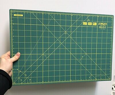 Olfa Rotary Cutting Mat Green RM-IC-C Double Sided Imperial & Metric Quilting