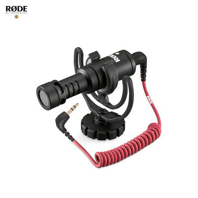 Rode VideoMicro Compact On Camera Lightweight DSLR Video Micro Microphone V4U6