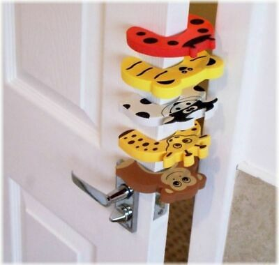 5pcs baby Child proofing Door Stoppers Finger safety Guard randomly colour