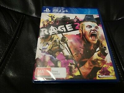 Brand New Sealed Playstation 4 PS4 Rage 2 Game